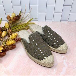LFL Lust For Life Studded Espadrille Loafer Flats